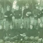 1914 Carrollton High Football - Victor Clark holding the ball