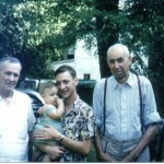 Four Generations Left to Right - Victor, Alan, John and U. D. Clark 1953
