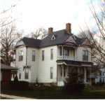 Frank X. Vivell House, Carrollton, IL - Photographed in 2000