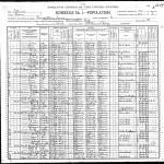 O. H. Vivell 1900 Census, Carrollton, Illinois