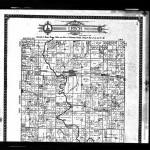 Plat book page of Elias Clark's Farm, Section 24, Leech Township, Illinois