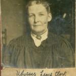 Ulissa Jane Leach Clark