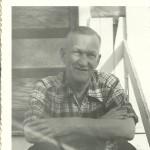 Victor Clark, Photograph taken in Killeen, TX 1952