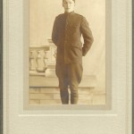Victor Clark in WWI Uniform 1918