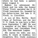 Victor Clark obituary