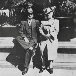 O. H. and Belle Vivell, 2/11/1940, Cernavaca, Mexico, 50 miles South of Mexico City.