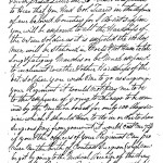 Dr. Clark Letter to his son Elias Clark Page 1