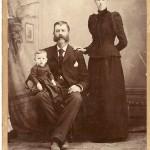 Lewis Daniel Leach Family Photograph