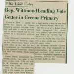 Article mentioning John Clark, April 11, 1956