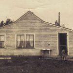 Last Clark house in Alberta Canada